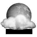 Mayormente nuboso